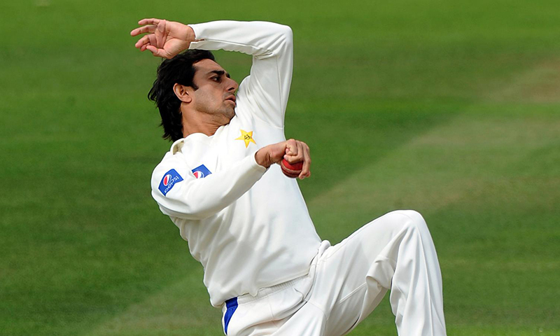Saeed Ajmal Bowling Test Completed