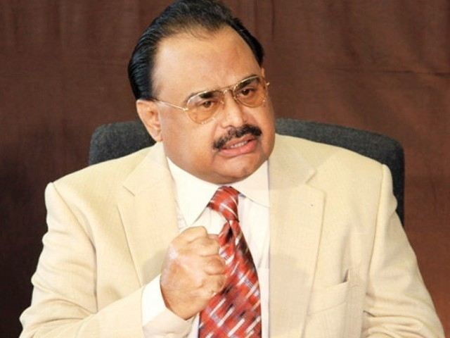 We Sacrificed Much for Pakistan Altaf Hussain