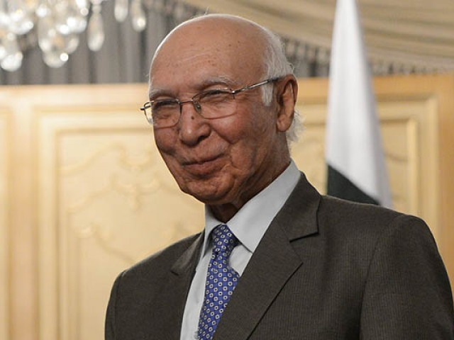 We are All Committed Against Terrorism Sartaj Aziz