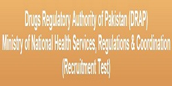 NTS Recruitment in Drugs Regulatory Authority of Pakistan (DRAP)