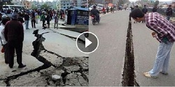 Watch devastating earthquake in Nepal: 790 killed