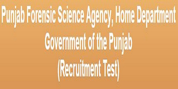 punjab forensic science jobs 2015