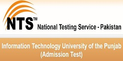 NTS Admission test for Information Technology, Punjab University