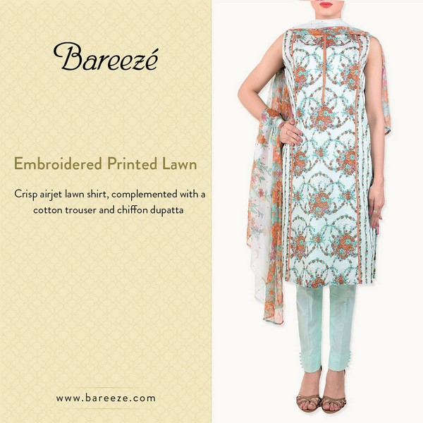 Bareeze Eid and Summer Collection 2015-10