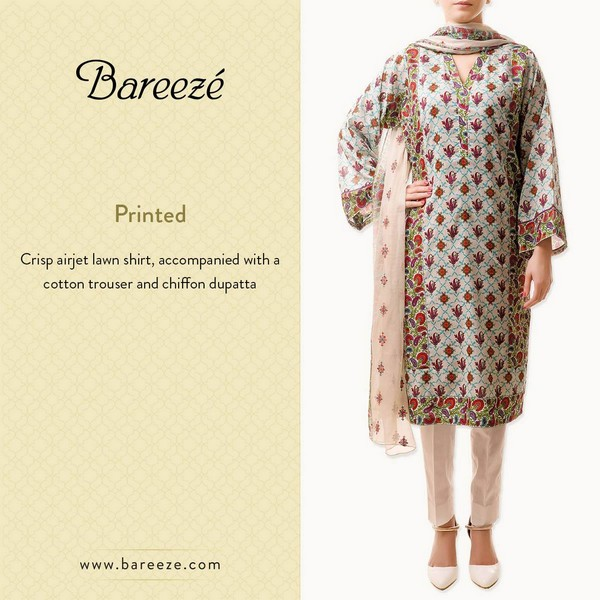 Bareeze Eid and Summer Collection 2015-16