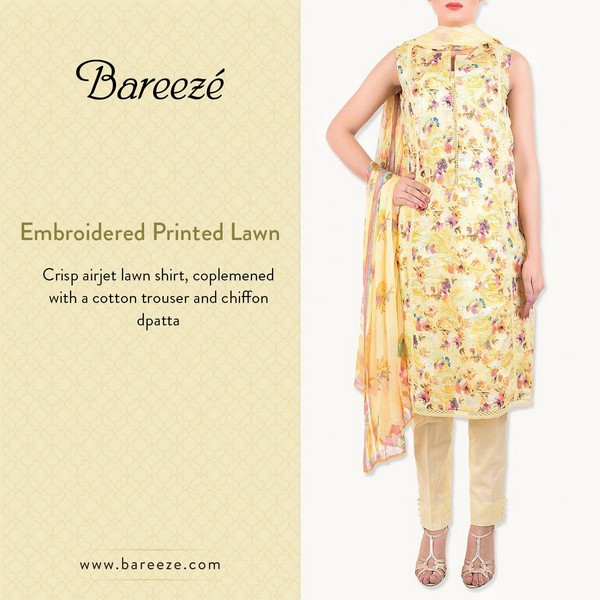 Bareeze Eid and Summer Collection 2015-2