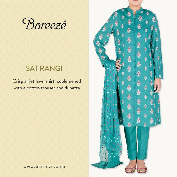 Bareeze Eid and Summer Collection 2015-3