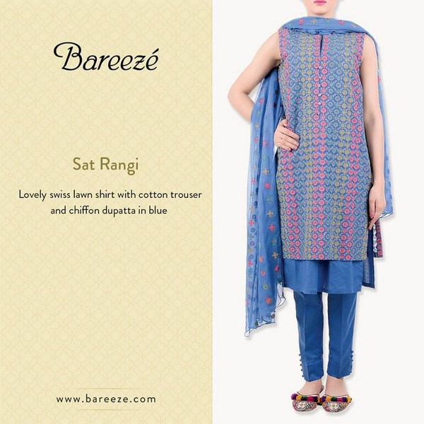 Bareeze Eid and Summer Collection 2015-5
