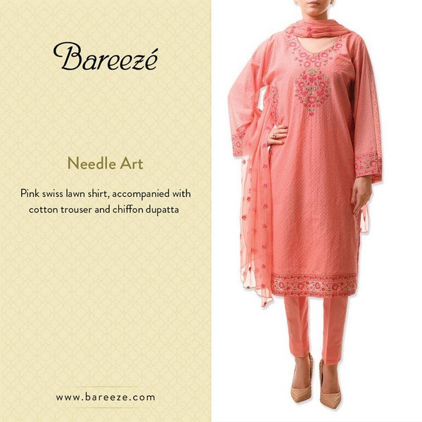 Bareeze Eid and Summer Collection 2015-6