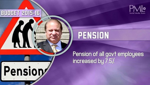 Budget 2015-16 Pension