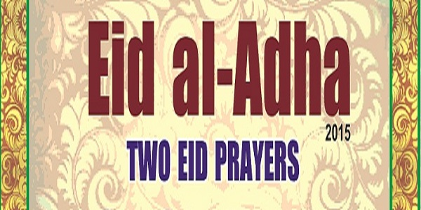 eid ul azha 2015 prayer timing