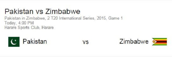 pakistan vs zimbabwe series 2015 live