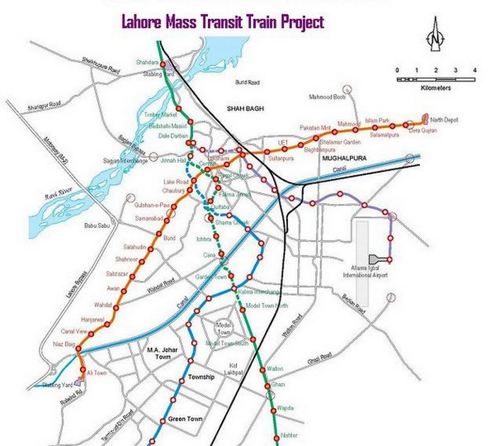 Lahore-Metro-Train-Route-Map-from-Ali-Town-to-Dere-Gujjran