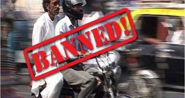pillon riding banned