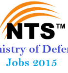 NTS MOD Jobs announced on 8-11-2015 Advertisement and full details
