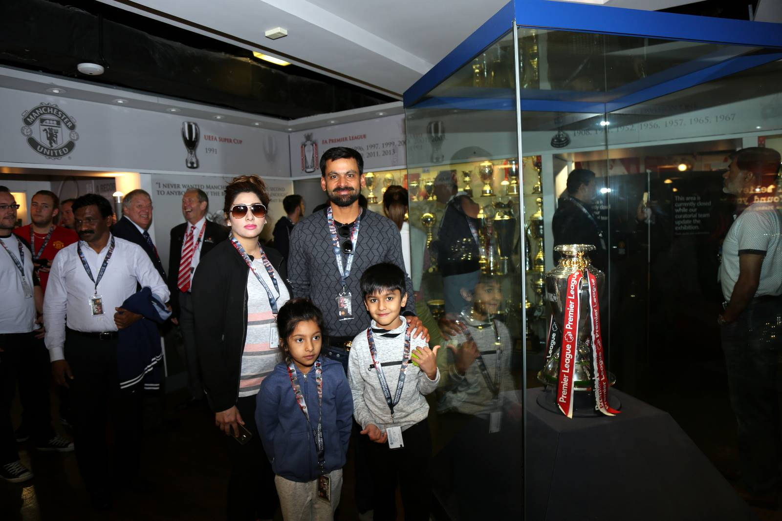 Families of Pakistani Cricketers in UK 11