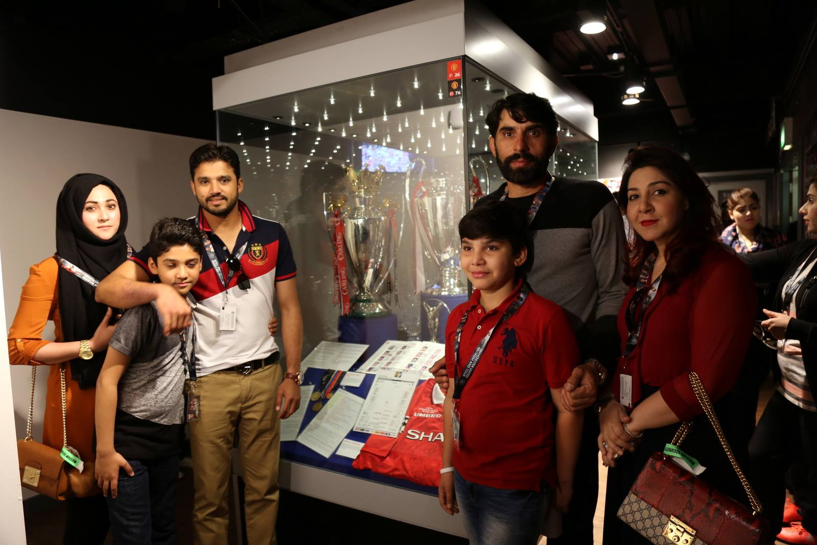 Families of Pakistani Cricketers in UK 15