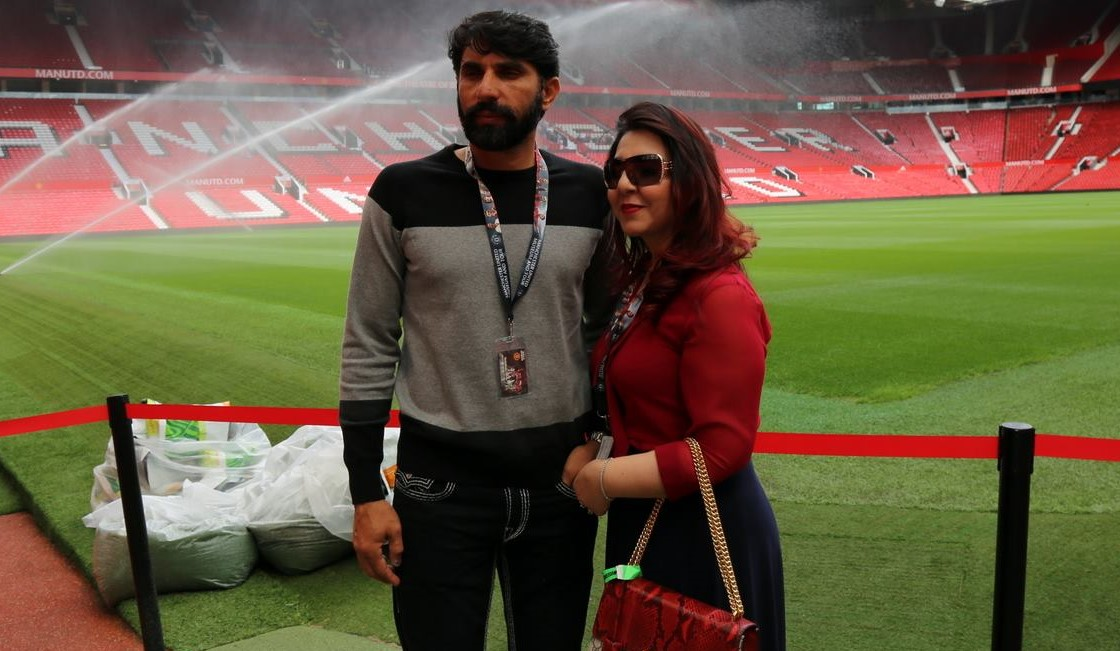 Pictures of Family Tour of PAK Cric Team at Old Trafford UK