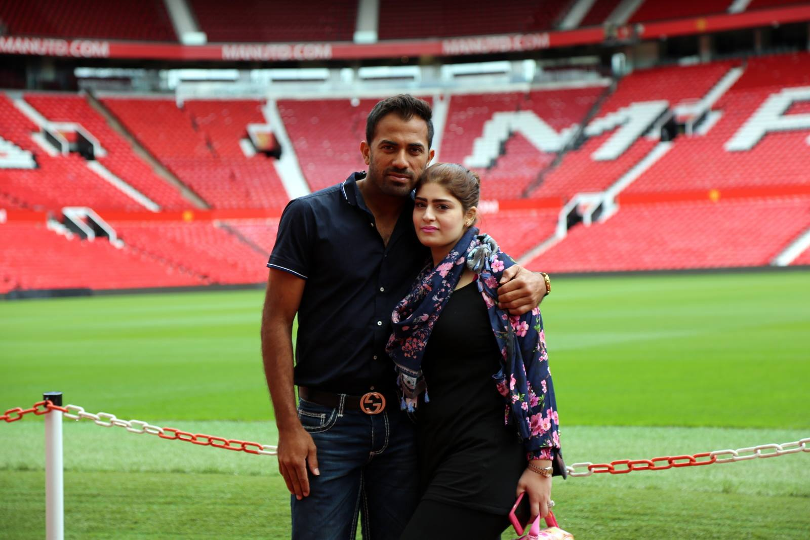 Families of Pakistani Cricketers in UK 25