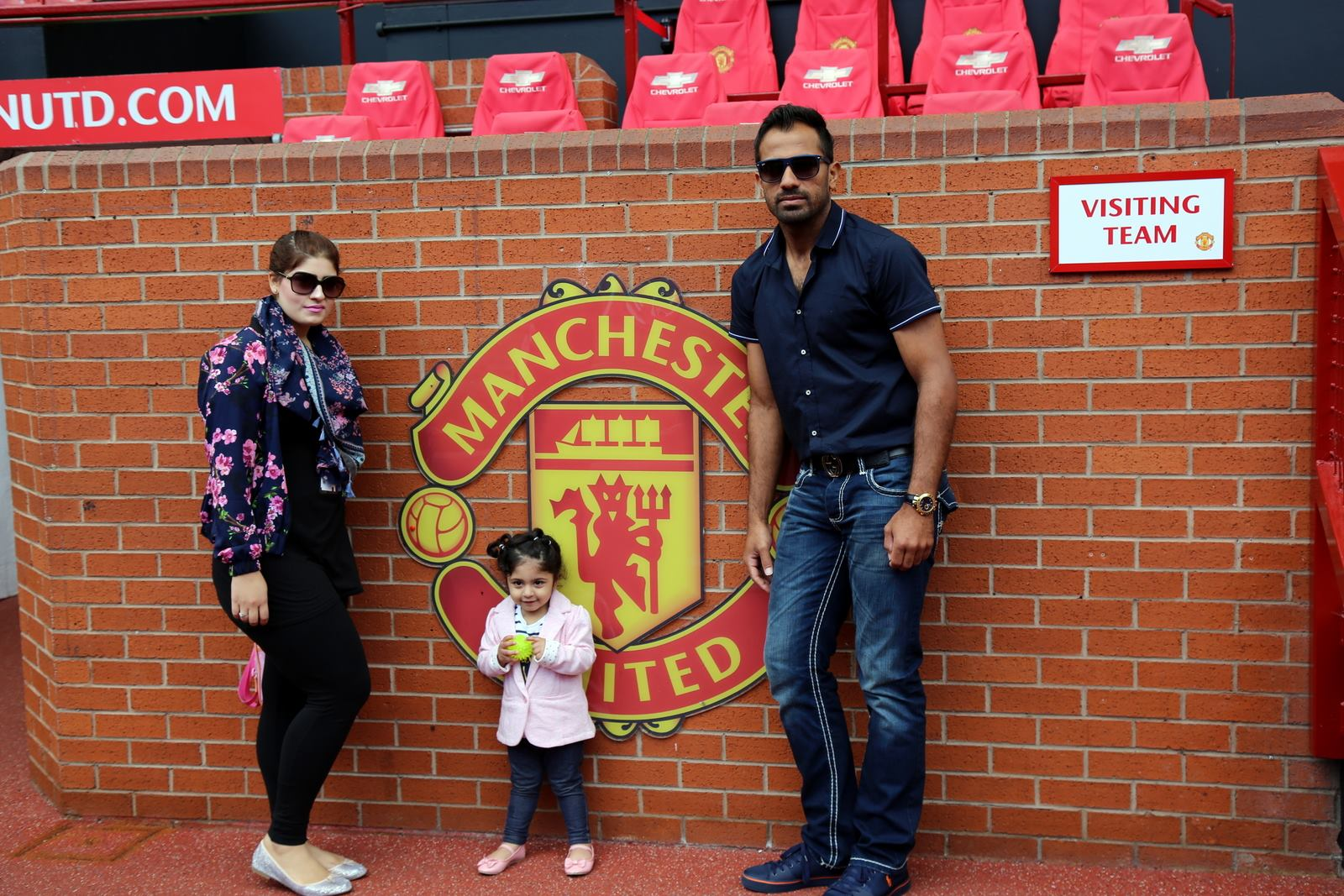 Families of Pakistani Cricketers in UK 26