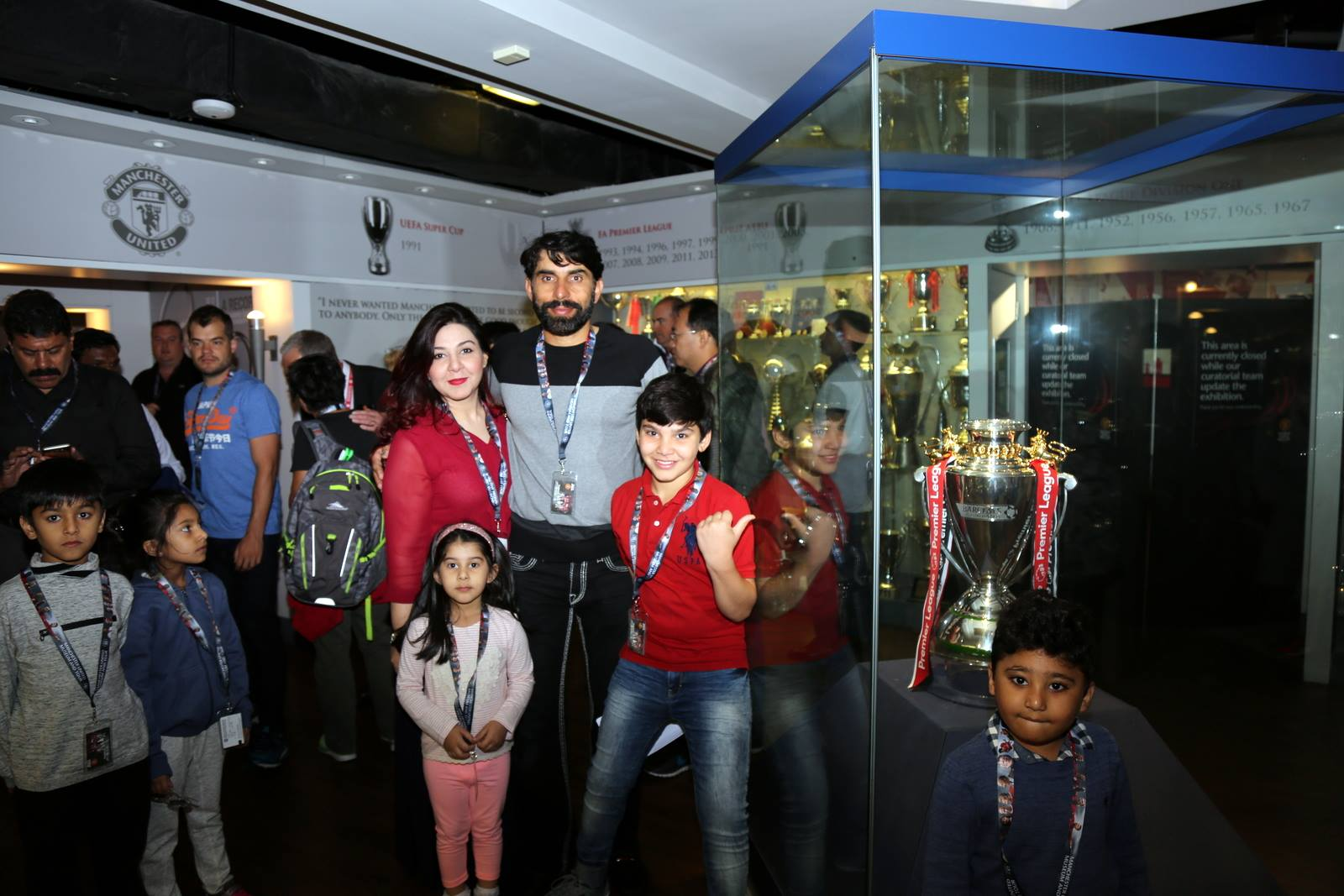 Families of Pakistani Cricketers in UK 9