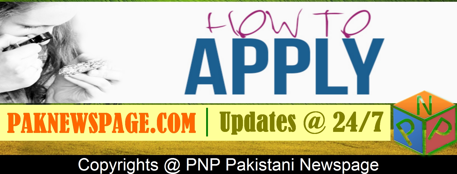 PNP Pakistani Newspage How to Apply