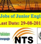 WAPDA Announces 185 Junior Engineer Jobs through NTS