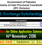 Online Registration Open for Cultural Exchange Scholarships Programme 2017