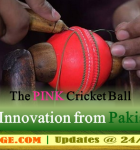 The Pink Cricket Ball: An innovation in cricket sports by pakistani manufacturers