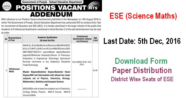 psed-revised-ad-for-ese-sci-math