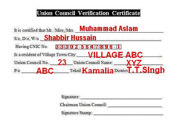 sample-union-council-form