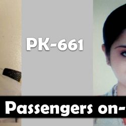 PK-661: Pictures and Names of Passengers