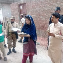 AC Wazirabad Noor ul Ain Qureshi Checked Census Teams
