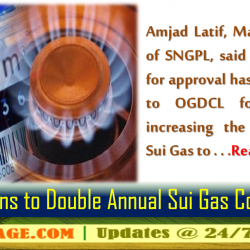 SNGPL Plans to Double Annual Sui Gas Connections