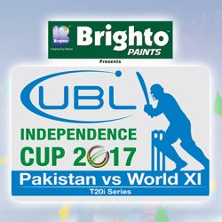 Independence Cup Tickets: Pakistan Vs World XI Tickets and Schedule
