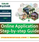 How to apply online for Punjab Rozgar Scheme 2020?